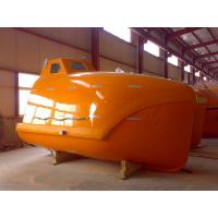 China CCS ABS BV EC Approved Totally Enclosed GRP Free Fall Lifeboat for Sale wholesale