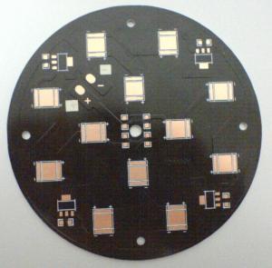 China TG 135 HASL Leadfree 1.6mm aluminium prototype printed circuit board for led wholesale