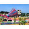 China Super Tornado Slide And Trumpet Slides Pool Slide For Water Park Equipment For Sale wholesale