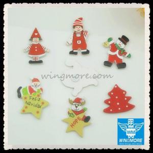China Wooden Crafts Fridge Magnets wholesale