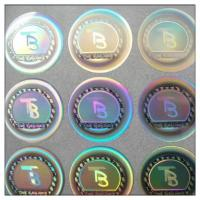 High Security Adhesive Security 3d Reflecting Gold  Hologram Sticker Manufacturer