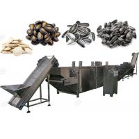 China Automatic Nuts Roasting Machine For Pumpkin And Watermelon Seeds , 300-1000 Kg / H wholesale