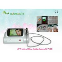 China 5MHz Skin Care Fractional Radiofrequency Micro Needle With 25 Pins / 49 Pins / 81 Pins wholesale
