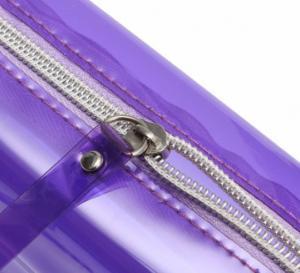 China Custom EVA / PVC Pencil Bag Stationary Case , Clear PVC Cosmetic Bag wholesale