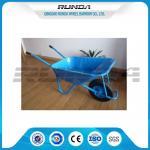 China Pneumatic Wheels Lightweight Garden Cart WB5009E 0.5-1.2mm Tray Thickness wholesale