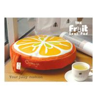 China Colorful Kitchen Chair Cushion / Memory Foam Floor Cushion Pads , Round wholesale