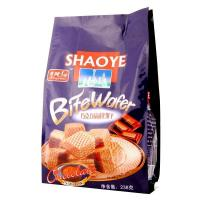 China Chocolate Flavour Biscuit Quad Seal Food Plastic Bags with side Gusset wholesale