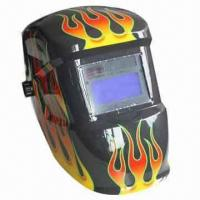 China Solar-powered welding helmet on sale