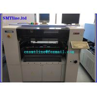 China 1.2m Pcb Led Smt Machine , Yamaha YV100II Pick And Place Machine With Manu Tray Feeder wholesale