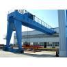 China Outdoor Profesional Double Girder Semi Gantry Crane / Lifting Equipment wholesale