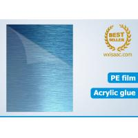 China Protective film for brushed stainless steel No. 4 finish HOT SALE wholesale