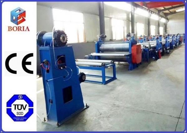 Quality 1200mm-2400mm Tape Width Conveyor Belt Forming Machine Reciprocating Working Mode for sale