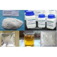 Muscle Fitness Injectable Anabolic Steroids Stanozolol / Winstrol CAS 10418-03-8