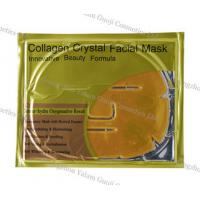 China 24k Gold Facial Mask Anti Wrinkle With Deep Sea Fish Collagen For Beauty Moisturized wholesale
