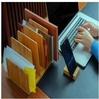 China hot selling bamboo book holder brochure holder using office home with factory price wholesale