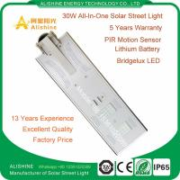 China Top Manufacturer Integrated LED Solar Street Light for Outdoor Lighting wholesale