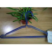 China Multi Color Powder Coating Hangers / Metal Wire Hangers 1.8 - 2.5mm Thickness wholesale