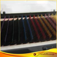 China Natural Looking 10mm Mink Eyelashes Extensions Individual D Curl on sale