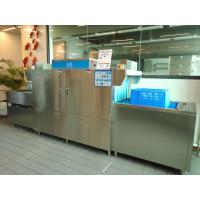 China High Temperature Flight Type Dishwasher With Touch Screen Intelligence Control wholesale
