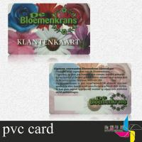 China Magnetic Clear Plastic ID Cards With Barcode Support Photo , Name Printing wholesale