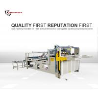 China HRB PACK Folder Gluer Machine Semi Automatic New Condition For Big Size Box wholesale
