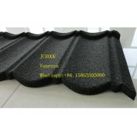 China Stone Coated Metal Roof Tile size 1300*420mm Thickness 0.45mm Roman Tile JC109 Green Black wholesale