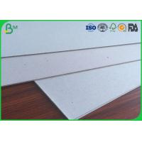Buy cheap Hard Stiffness Book Binding Board , Grey Cardboard Sheets 1.5mm 2.0mm 2.5mm from wholesalers