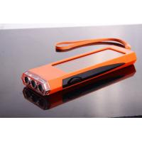 Shenzhen Factory 3 LED Solar Torch with Internal Rechareable Battery