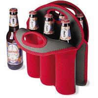 China Six pack beer bottle cooler wholesale