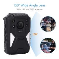 China 1296P HD 150 Degree Wide Angle Recording Wearable Video Body Worn Camera Bulit In GPS wholesale