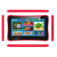 China Red Dual Camera 2D / 3D kids educational laptop 1024*600 LCD games app wholesale