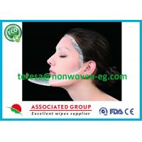 China Clean Whitening Needle Punched Non Woven Fabric Face Mask Sheet Soft Breathable on sale