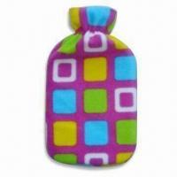 China Hot Water Bottle Cover in Various Shapes, Sizes and Colors, Made of Plush, OEM Orders are Welcome wholesale