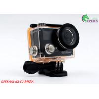 China Compact 2 Inch Dual Screen 4k Waterproof Action Video Camera K8 360VR 170 Degree wholesale
