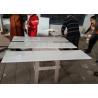 "China White Nanoglass Quartz Bathroom Vanity Tops 96"" X 36"" Durable Slab In 18 Mm Thickness wholesale"
