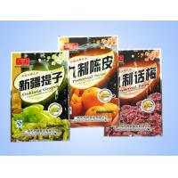 China Promotional Plastic Stand Up Snack Food Packaging  , Three Side Seal Bag wholesale