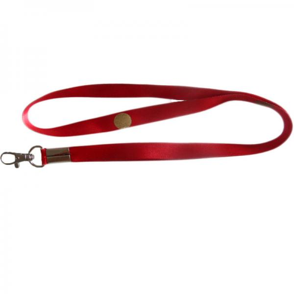 Quality 90cm red color heat transfer print logo card holder lanyard strap for sale