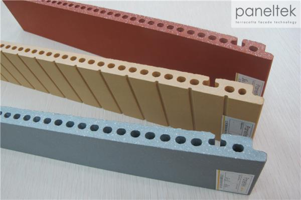 Quality Building Materials Terracotta Facade Cladding With Frost - Resistance for sale