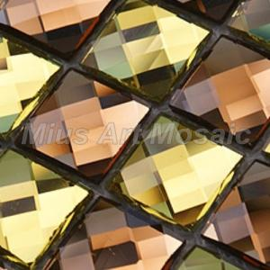 Beveled Glass Mirror Mosaic Tile Images