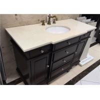 Buy cheap 20 Inch Marble Vanity Tops With Convex Edge , Bathroom Marble Look Countertops from wholesalers