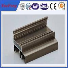 China Aluminium windows profiles in china manufacturer,aluminium double sliding windows frame wholesale