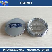 China OEM / ODM ABS Chrome Ford Logo Alloy Car Wheel Center Caps 55mm / 60mm wholesale
