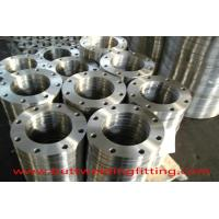 Buy cheap Forged Steel Plate Flanges 6''  SUS304 Class 150 PN20  ASME B16.5 from wholesalers