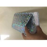 China Holographic Colored Bubble Wrap Mailers Padded Parcel Bags Waterproof wholesale