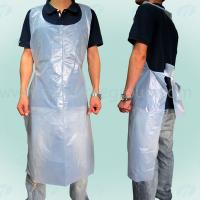 China Embossed Cleaning Polyethylene Apron Waterproof Disposbale Eco-friendly wholesale