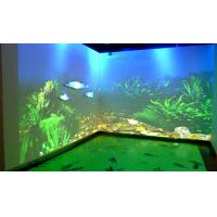 China Public Event Interactive Floors And Walls Projectors With 120 Different Effects on sale