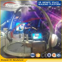 China Dynamic VR Theme Park Simulator , High Disposition VR Space Walk wholesale