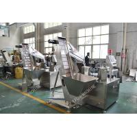 China PE Foam Liner Inserting Cap Lining Machine For Water Bottle Caps Automatic wholesale