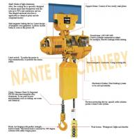 Compact  0.5 ton 2 Ton Electric Hoist  For Crane / Travelling Type / Fixed Type