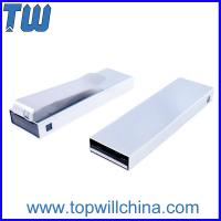 China Solid Stainless Metal Tie Clip Usb Pen Drive 64GB for Business Man Easy to Carry wholesale